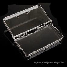 Hard Transparent Plastic Crystal Case Tampa de pele transparente Shell de proteção para Nintendo para 3DS