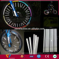 Bicycle wheels reflectors for safety