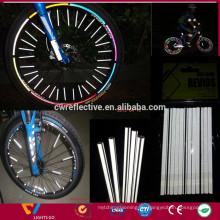 Fahrrad-Radreflektoren für die Sicherheit