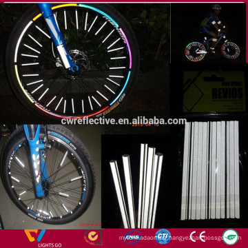 colored bicycle spokes/glow in the dark bicycle spokes/reflective bicycle spokes