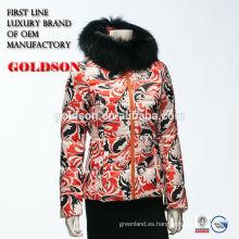 2016 la chaqueta más nueva del invierno de las señoras de Italia de la llegada y las mujeres de la capa forman las capas