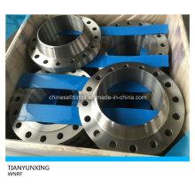 ASME B16.5 A105 Aço de carbono soldado pescoço Flange