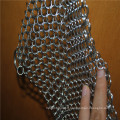 Stainless steel ring mesh scrubber / Cast iron cleaner