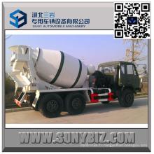 Dongfeng CUMMINS Engine 4 M3 outre du camion de mélangeur de ciment de route