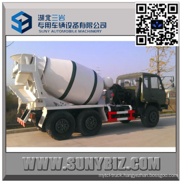 Dongfeng Cummins Engine 4 M3 off Road Cement Mixer Truck