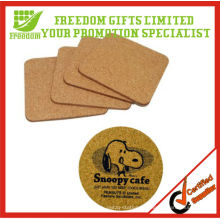 Promotional Custom Logo Printed Blank Cork Coaster