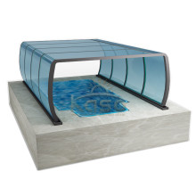 Pantalla Sun Dome Kit recinto de piscina enterrada