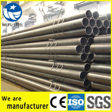 Black welded structural ERW Q235B steel pipe