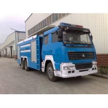 Sinotruk Styer / HOWO Camión de lucha contra incendios de agua y espuma