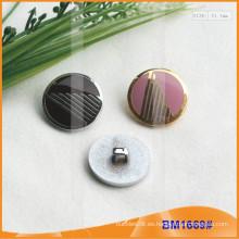 Botón de aleación de zinc y botón de metal y botón de costura de metal BM1669