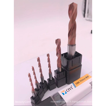 Forets carbure pour métal D5.0mm