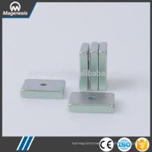 Factory new arrival block ndfeb single pole magnet