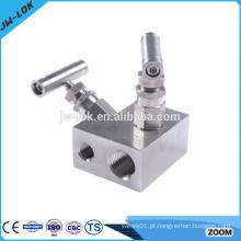 Colectores de instrumentos de pressão de água em aço inoxidável