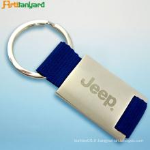 Porte-clés en métal avec plaqué à vendre
