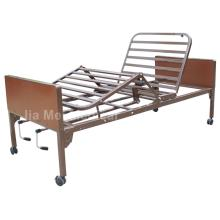 Height Adjustable Hospital Manual Bed