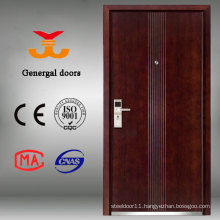 Safest Grade Armored Steel Entrance Security Wood Main Door