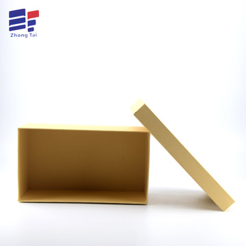 Europe style for for Clothing Paper Gift Box Hand made kraft  paper clothing packaging box supply to Portugal Manufacturer