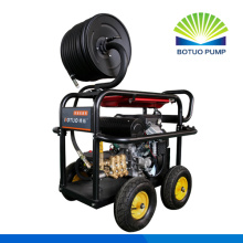 Diesel Drain Cleaning Machine gasoline engine 21Liter,350bar