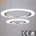 Акриловый подвесной светильник Современная круглая люстра для дома