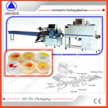 Cupped Jelly Automatic Shrink Packing Machine