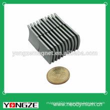 Powerful neodymium arc segment magnets