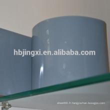 Rouleau doux en PVC super clair