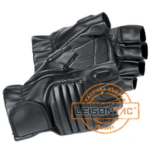 Hälfte-fingriger Lederhandschuhe Annahme Superior Leder