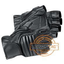 Gants de doigts demi cuir adoptant en cuir supérieur