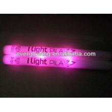 cor rosa LED vara de espuma toda venda 2016