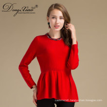 Colorful Winter Wool Cashmere Blend Sweater Women From China Manufactory