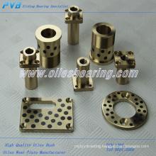 carbon graphite plates, gun metal bush bearing, PTFE insert gunmetal bushing manufacturer