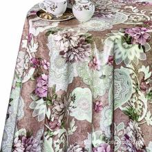 Spring Floral Pvc Vinyl Table Cloth