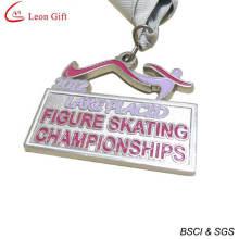 Medalha campeonato de patinação personalizado (LM1259)