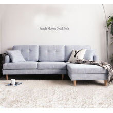 Moderne und einfache Wohnzimmer mit Ecksofa