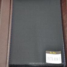 corte de tecido de lã 100% em design de sarja