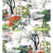 Wunderschönes Design Digital Printed Woven Garment Fabric