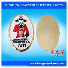 Super Qualität durchscheinende anspruchsvolle Metallmünze aus China-Lieferant