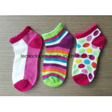 Chaussettes pour enfants avec motif Chaussettes tricotées pour cheville en coton