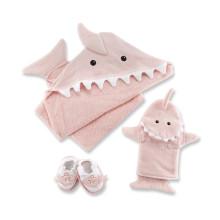 прекрасный ребенок пляжное полотенце полотенце с капюшоном для малыша