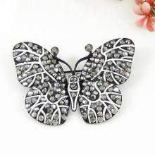 Gets.com zinc alloy rhinestone fleur de lis brooch