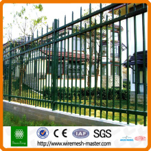 Powder coating picket tube wall
