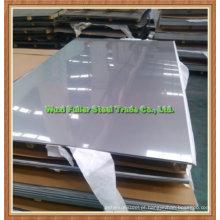 Placa de aço inoxidável do revestimento da escova de 304 bobinas