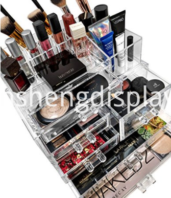 Cosmetics Makeup Jewelry Storage Case Display
