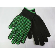 PVC dots nylon glove/working glove ZMR347