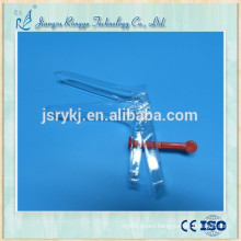 French type medical disposable gynecological vaginal speculum