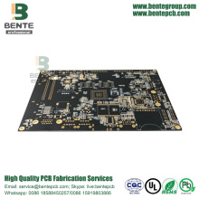 "8 Layers HDI PCB FR4 Tg170 ENIG 3U"" BGA Buried/Blind Hole"