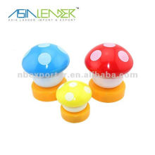 Colorful mushroom led touch light
