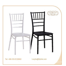 high quality good price bamboo pp chair stacking wedding