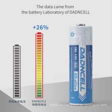 Seguridad 1.5V LR03 AA Batería alcalina para Flash Luces de larga duración Maquinillas de afeitar Juguetes eléctricos