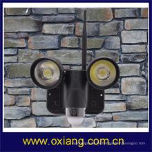 720 P impermeable LED luz PIR cámara / video vigilancia inalámbrica con monitor de detección de acción ZR720